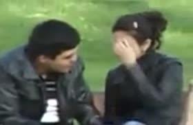 Узбекский пикапер полапал девочку на улице